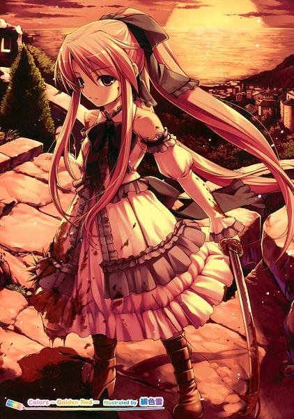 Tags: Anime, Hiiro Yuki, Girls Girls Girls! 8 -Colorful Girls-, Scan, Pixiv