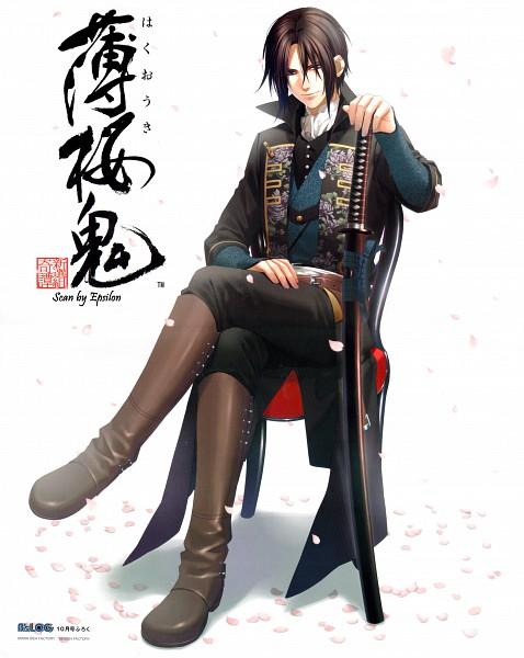 Tags: Anime, Kazuki Yone, IDEA FACTORY, Hakuouki Shinsengumi Kitan, Hijikata Toshizou (Hakuouki), Official Art