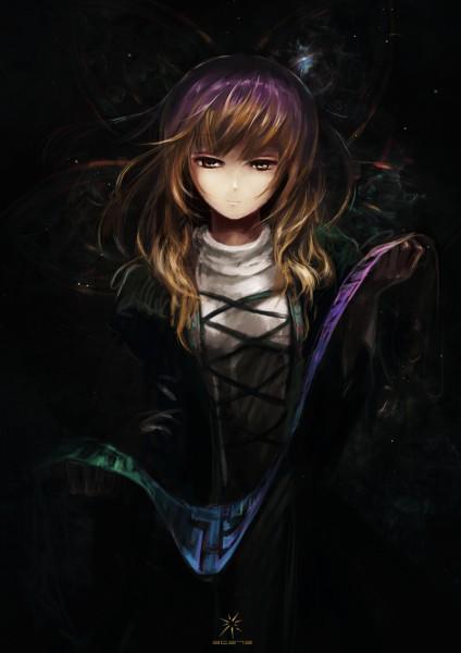 Tags: Anime, Jq, Touhou, Hijiri Byakuren, Sorcerer's Sutra Scroll, Pixiv, Mobile Wallpaper, Byakuren Hijiri
