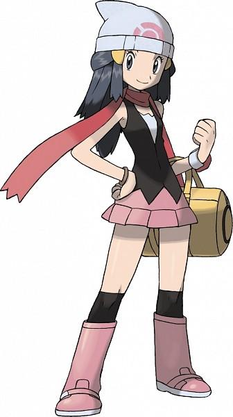 Hikari (Pokémon) (Dawn (pokemon)) - Pokémon Diamond & Pearl