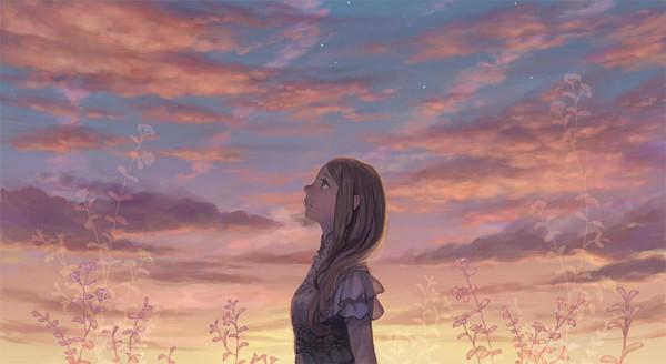 Tags: Anime, Hiko (Scape), Facebook Cover, Pixiv, Original