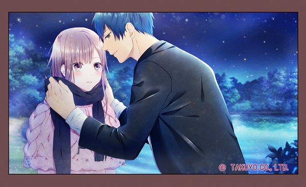 Tags: Anime, TAKUYO, Himehibi Another Princess Days, Kasakino Emi, Arashiro Masamune, Official Art, CG Art