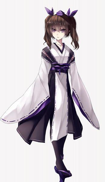 Tags: Anime, HUG (yourhug), Touhou, Himekaidou Hatate, Kourindou Tengu Costume, Fanart From Pixiv, Mobile Wallpaper, Pixiv, Fanart, Hatate Himekaidou