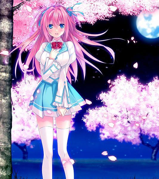 Tags: Anime, Riichu, Campus, Haru Uso -Passing Memories-, Himeno Satsuki, CG Art