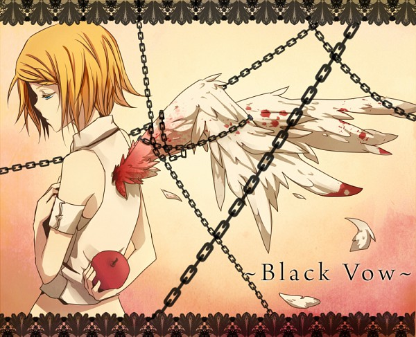 Tags: Anime, Daenarys, VOCALOID, Kagamine Rin, Himitsu - Kuro no Chikai, deviantART, Secret 〜black Vow〜