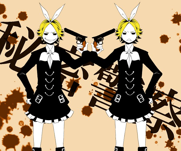 Tags: Anime, VOCALOID, Kagamine Rin, Himitsu Keisatsu, Secret Police
