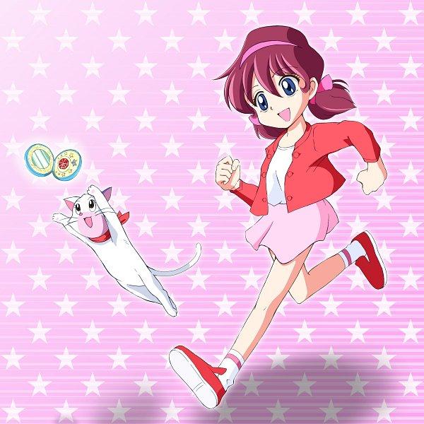 Tags: Anime, Kinfuji, Himitsu no Akko-chan, Kagami Atsuko, Compact, Fanart From Pixiv, Pixiv, Fanart