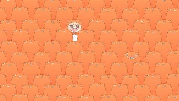 Tags: Anime, Himouto! Umaru-chan, Doma Umaru, Orange (Color), °A°, Wallpaper