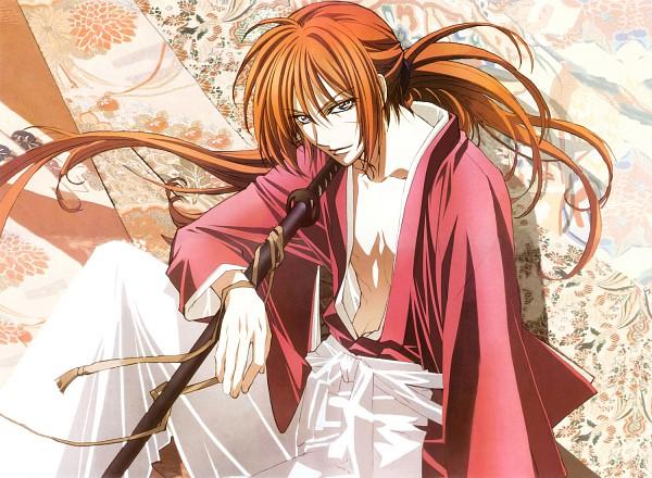 Tags: Anime, Nakajima Atsuko, Rurouni Kenshin, Himura Kenshin, Wallpaper, Edited, Fanmade Wallpaper