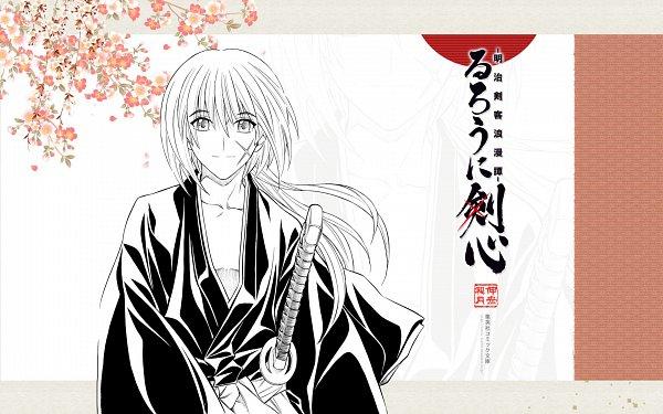 Tags: Anime, Watsuki Nobuhiro, Rurouni Kenshin, Himura Kenshin, Wallpaper, Official Art, Official Wallpaper