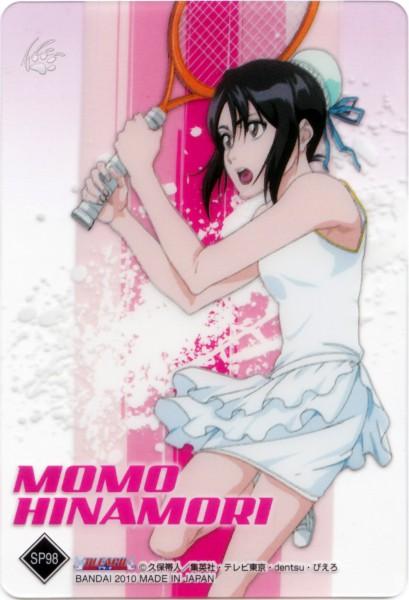 Tags: Anime, BLEACH, Hinamori Momo, Tennis Racket, Tennis, Official Art, Mobile Wallpaper, Gotei 13