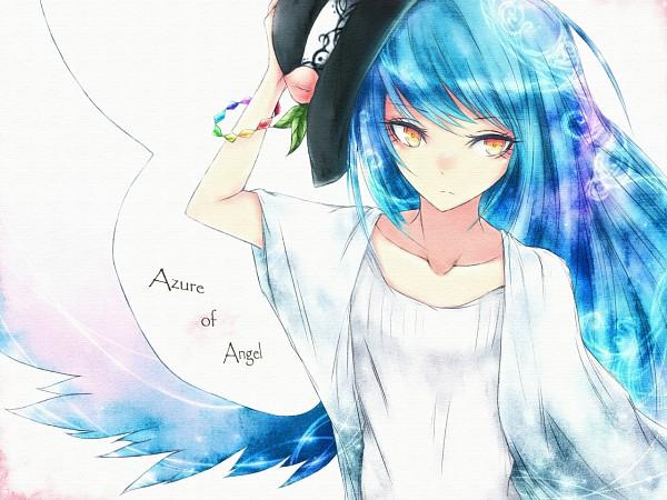 Tags: Anime, Km078, Touhou, Hinanawi Tenshi, Fanart From Pixiv, Pixiv, Fanart, Tenshi Hinanawi