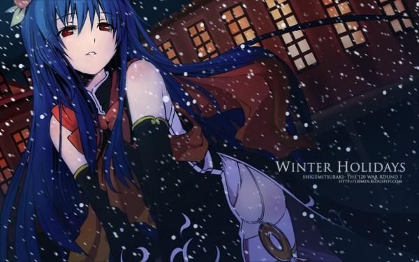 Tags: Anime, Eretto, Touhou, Hinanawi Tenshi, 2560x1600 Wallpaper, Wallpaper, HD Wallpaper, Tenshi Hinanawi