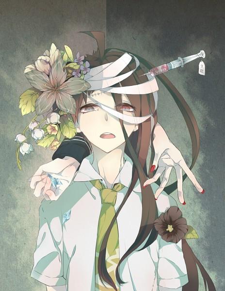 Tags: Anime, Pixiv Id 1524449, Super Danganronpa 2, Hinata Hajime, Pixiv, Fanart, Fanart From Pixiv