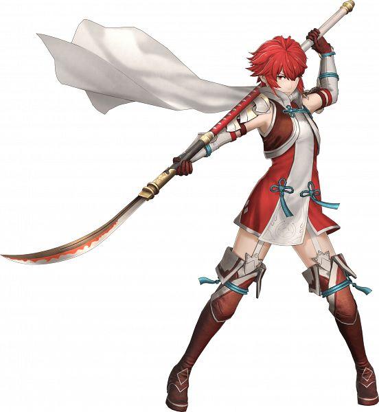Tags: Anime, ω-Force, Fire Emblem Musou, Hinoka (Fire Emblem), Official Art