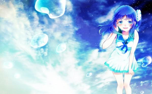 Tags: Anime, Pixiv Id 1053741, Nagi no Asukara, Hiradaira Chisaki, Pixiv, Wallpaper