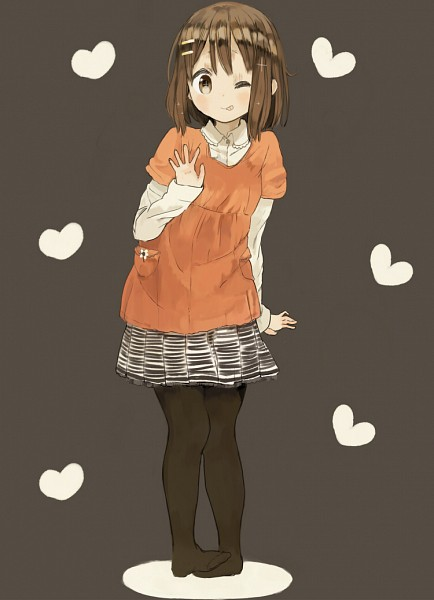 Tags: Anime, Nasuna, K-ON!, Hirasawa Yui, Mobile Wallpaper, Pixiv, Yui Hirasawa