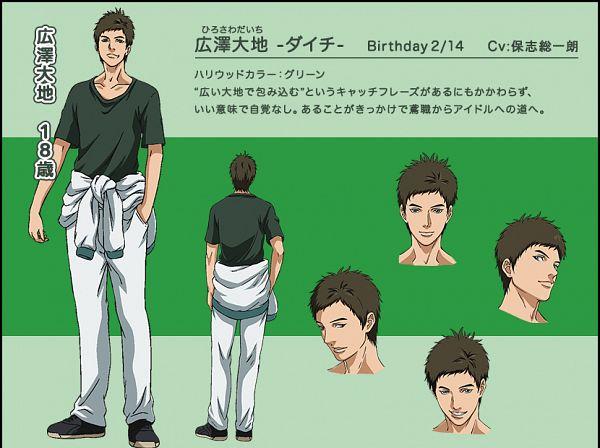 Tags: Anime, Tsuchiya Kei, ZEXCS, Shounen Hollywood: Holly Stage For 49, Hirosawa Daichi, Jacket Around Waist, PNG Conversion, Cover Image, Official Art