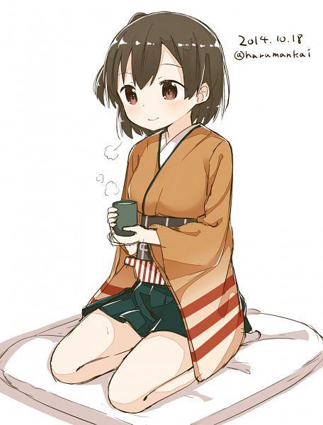 Tags: Anime, Muku-coffee, Kantai Collection, Hiryuu (Kantai Collection), PNG Conversion