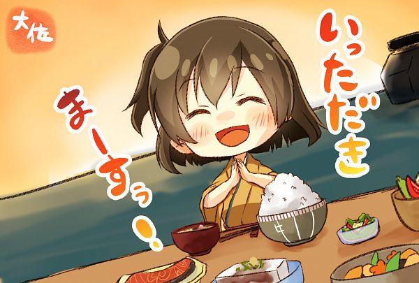 Tags: Anime, Pixiv Id 813395, Kantai Collection, Hiryuu (Kantai Collection), Rice, PNG Conversion
