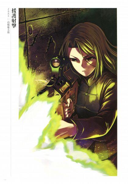Tags: Anime, Takahashi Keitarou, DELiGHTWORKS, Fate/Grand Order Memories I, Fate/Grand Order, Hisau Maiya, Official Art, Scan