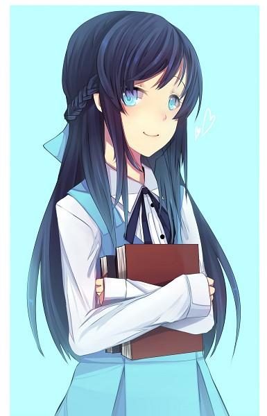 Tags: Anime, Hinagi (Fox Priest), Dokidoki! Precure, Hishikawa Rikka, Hugging Object, Fanart, Fanart From Pixiv, Mobile Wallpaper, Pixiv