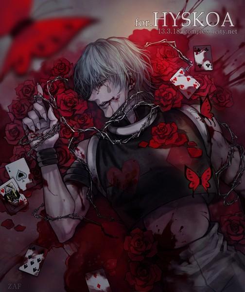 Tags: Anime, Pixiv Id 3622118, Hunter x Hunter, Hisoka, Pixiv, Fanart, Fanart From Pixiv