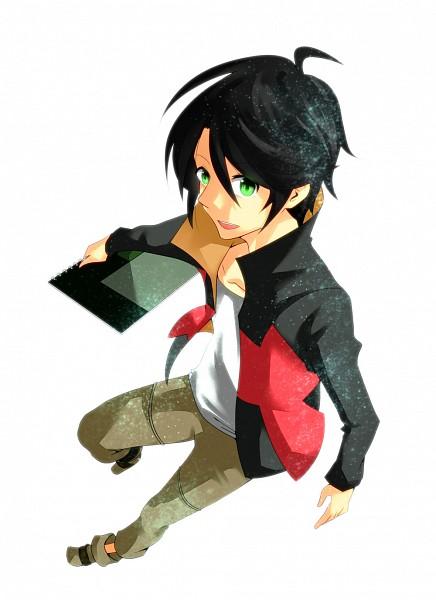 Tags: Anime, Pixiv Id 4375881, Ginga Kikoutai Majestic Prince, Hitachi Izuru, Sketchbook, Pixiv
