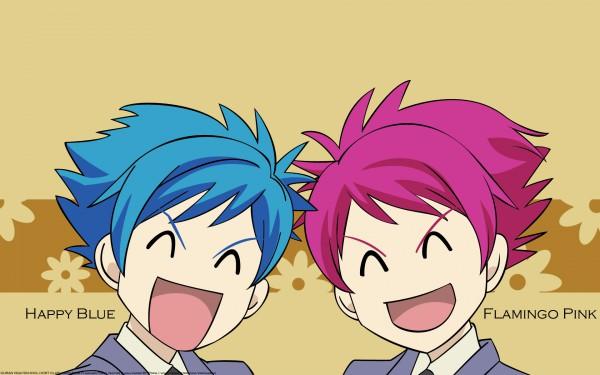 Tags: Anime, Ouran High School Host Club, Hitachiin Hikaru, Hitachiin Kaoru, Wallpaper, Hitachiin Twins