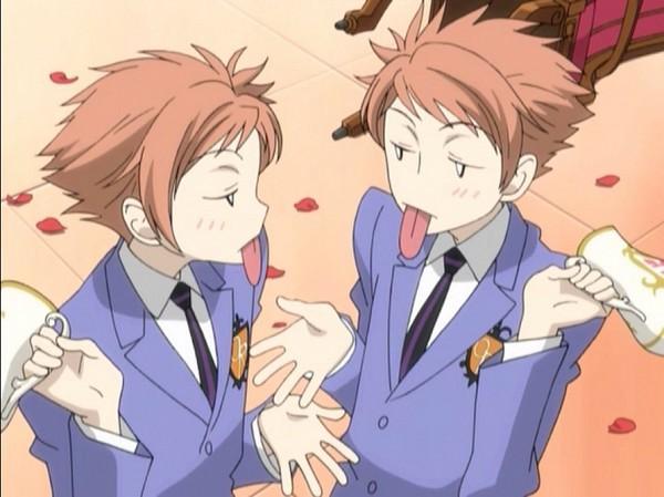 Tags: Anime, BONES (Studio), Ouran High School Host Club, Hitachiin Hikaru, Hitachiin Kaoru, Screenshot, Hitachiin Twins