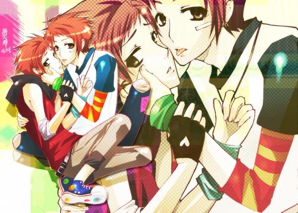 Tags: Anime, Ouran High School Host Club, Hitachiin Hikaru, Hitachiin Kaoru, Host, Twincest, Hitachiin Twins