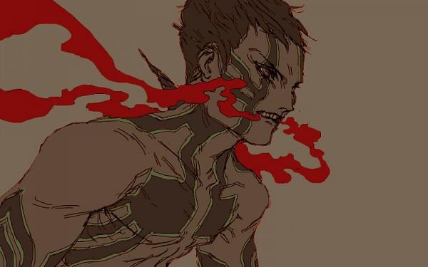 Tags: Anime, Kurkoboltsi, Shin Megami Tensei III: Nocturne, Hitoshura, Fanart, Demi-fiend