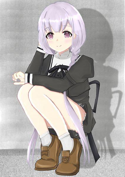 Tags: Anime, Pixiv Id 34622046, Assault Lily Project, Hitotsuyanagi Yuri, Fanart From Pixiv, Pixiv, Fanart
