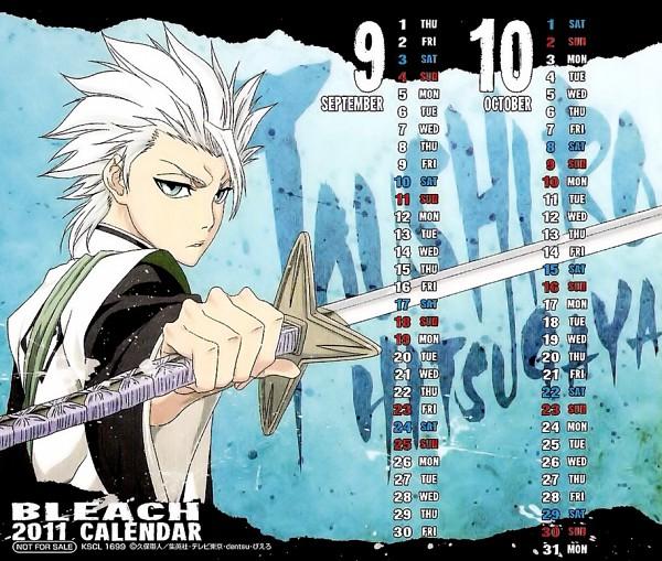 Tags: Anime, BLEACH Calendar 2011, BLEACH, Hitsugaya Toushirou, Calendar (Source), Official Art, Calendar 2011, Gotei 13