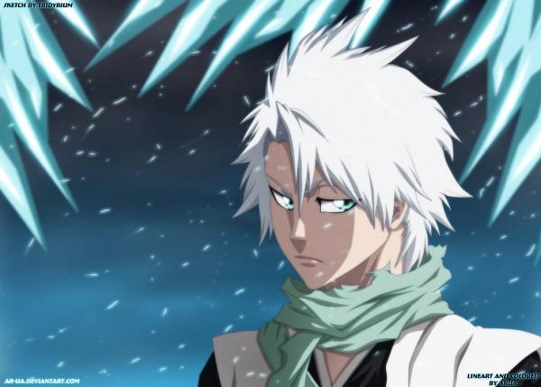 Tags: Anime, Ar-ua, BLEACH, Hitsugaya Toushirou, Colorization, deviantART, Gotei 13