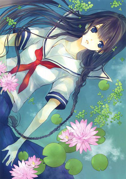 Tags: Anime, Hiyoshimaru Akira, Eshi 100-nin Ten 05, Scan, Mobile Wallpaper, Original