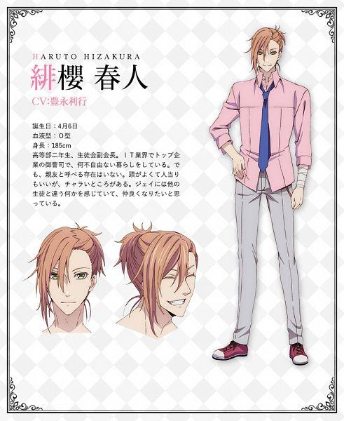 Tags: Anime, Satou Akiko, Silver Link, Butlers: Chitose Momotose Monogatari, Hizakura Haruto, Cover Image, Official Art, Character Sheet