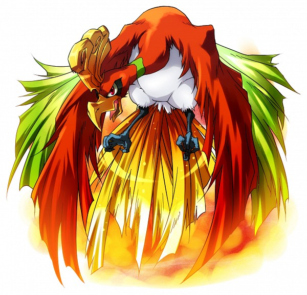 Tags: Anime, Pixiv Id 37818, Pokémon, Ho-oh, Legendary Pokémon