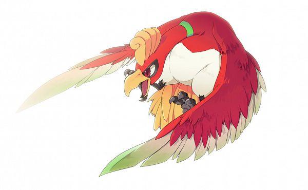 Tags: Anime, Yone (Eterno), Pokémon, Ho-oh, Fanart, Legendary Pokémon, Pixiv