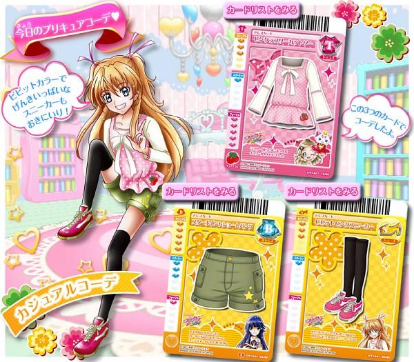 Tags: Anime, Smile Precure!, Suite Precure♪, Precure All Stars, Data Cardass Precure All Stars, Aoki Reika, Minamino Kanade, Hojo Hibiki, Card (Source), Official Art, Scan