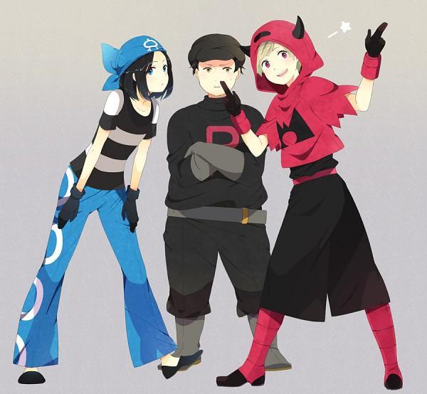 Tags: Anime, Hokenshitsu no Shinigami, Team Rocket (Cosplay), Team Aqua (Cosplay), Pokémon (Cosplay)