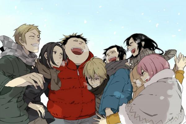 Tags: Anime, Hokenshitsu no Shinigami, Ashitaba Iku, Mamasaka Rentarou, Kaburagi Maya, Motoyoshi Koyomi, Yasuda Mitsuhiro, Fuji Rokusuke