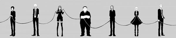 Tags: Anime, Pixiv Id 1859938, Hokenshitsu no Shinigami, Ashitaba Iku, Mamasaka Rentarou, Kaburagi Maya, Motoyoshi Koyomi, Yasuda Mitsuhiro, Itsuhito Hades, Fuji Rokusuke, Hanamaki Miku, Pixiv, Fanart