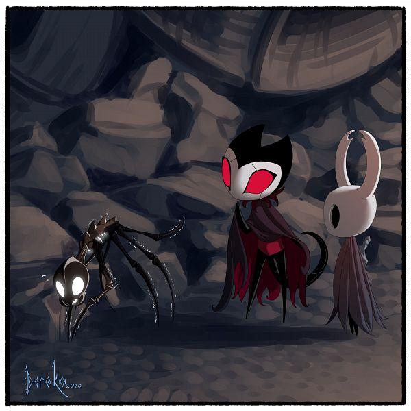 Tags: Anime, Sinnermode, Hollow Knight, Grimmchild, The Knight, Twitter