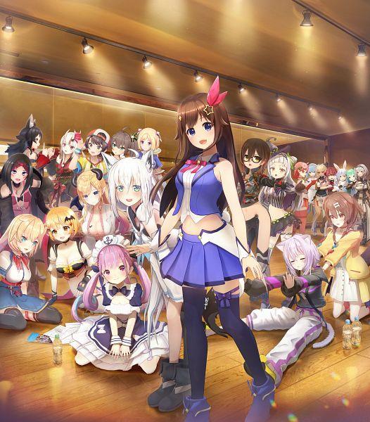 Tags: Anime, Cover Ltd., Marine Ch., Okayu Ch., Haato Channel, Aqua Ch., Mio Channel, Mel Channel, Rushia Ch., Noel Ch., Subaru Ch., SoraCh., Pekora Ch.