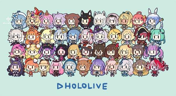 Tags: Anime, Licialurie, Mel Channel, Nene Ch., Marine Ch., Subaru Ch., Kanata Ch., SoraCh., Okayu Ch., Lamy Ch., Ninomae Ina'nis Ch., Mio Channel, Rushia Ch.