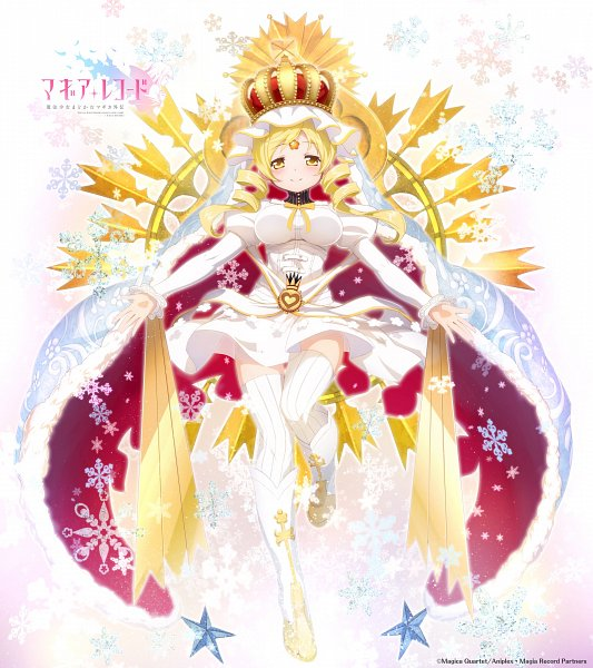 Tags: Anime, f4samurai, Magia Record: Mahou Shoujo Madoka☆Magica Gaiden, Holy Mami, Tomoe Mami, Official Art