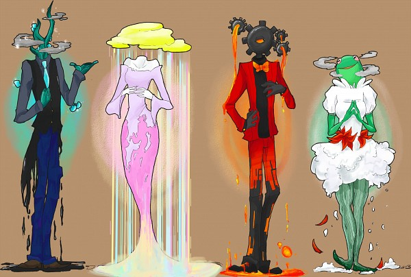Tags: Anime, Bear-princess, Homestuck, Jade Harley, John Egbert, Dave Strider, Rose Lalonde, Lava, Land Of Light And Rain, Land Of Wind And Shade, Land Of Heat And Clock Work, Land Of Frost And Frogs, deviantART