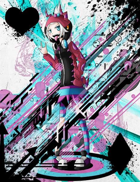 Tags: Anime, Pokémon, Homika, Rock Star, Graffiti, Scolipede (Cosplay), Fanart From DeviantART, Fanart, deviantART, Roxie