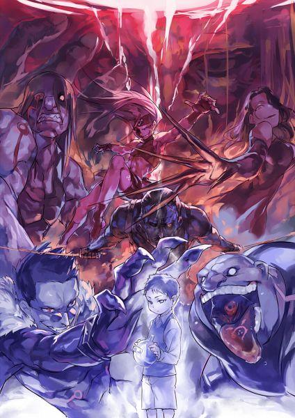 Homunculi - Fullmetal Alchemist - Image #2224052 - Zerochan Anime Image Board